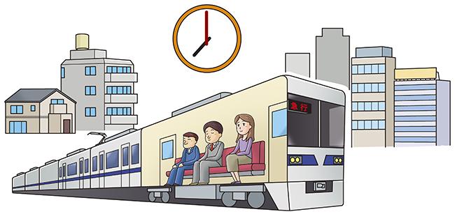 通勤 は 時差 と