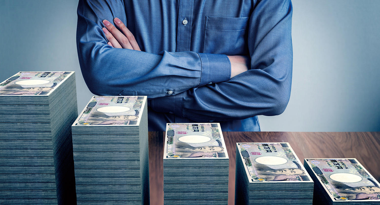 年齢別の貯金額、<br>50代までは上がるが60代・70代になると急降下<br>ー70代は平均198万円