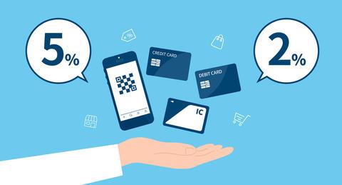 キャッシュレス・ポイント還元制度で最大5%--<br>お得になるお店を簡単に探せる方法とは!?